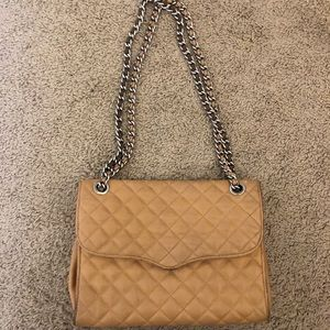Tan Rebecca Minkoff Flirty Chain Bag